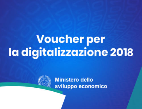 Voucher per la digitalizzazione delle Pmi . Ulteriore proroga termine -Decreto direttoriale 14 dicembre 2018 –