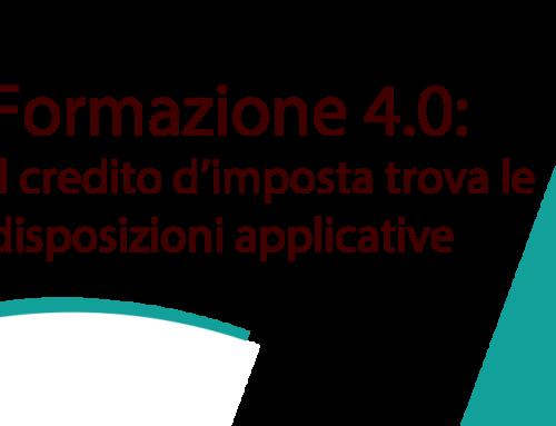 Formazione 4.0: il credito d'imposta trova le disposizioni applicative