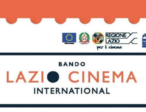 Contributo a fondo perduto per la partecipazione a Lazio Cinema International 2018